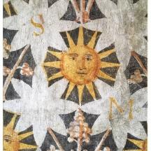 Sole, Palazzo Roccabruna | Postcards from Trento (Trentino Alto Adige) June 2019 | Photo: ©OrsolaCirielloKogan